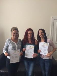 Katie, Kia, Louise Graduation