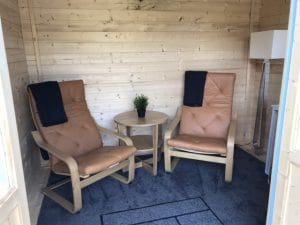 Fully Furnished Garden Lodge For Guests