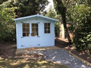 Garden Lodge - Outside View
