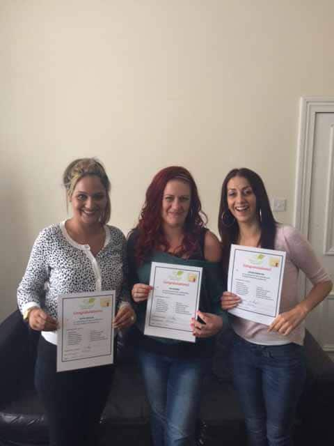 New Leaf Recovery Gallery Item - Katie, Kia, Louise Graduation